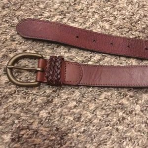 Abercrombie & Fitch Genuine Leather Belt